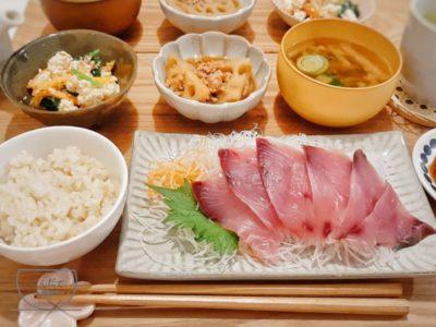 【ブリのお刺身の献立】副菜・付け合せレシピ